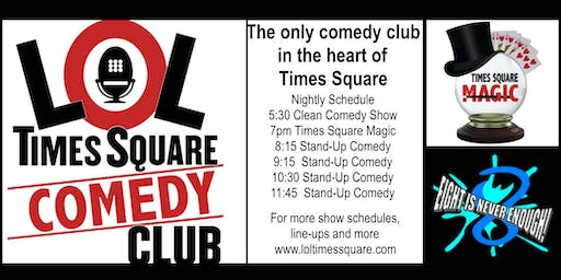 LOL TIMES SQUARE COMEDY CLUB Discount Tickets