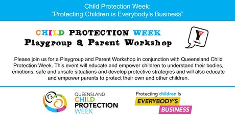 YMCA Child Protection Week Playgroup & Parent Workshop tickets
