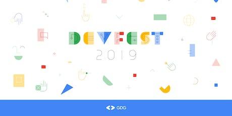 GDG DevFest Brasília '19 ingressos