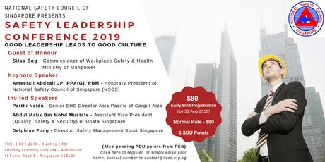 Safety Leadership Conference 2019 tickets
