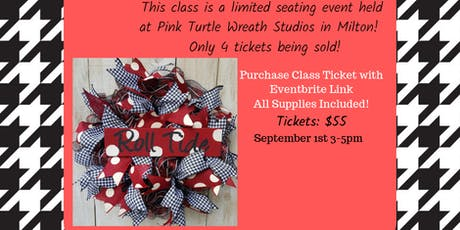 Alabama Football Wreath tickets
