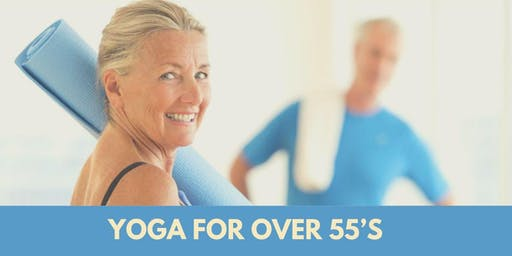Yoga for Over 55's August 2019