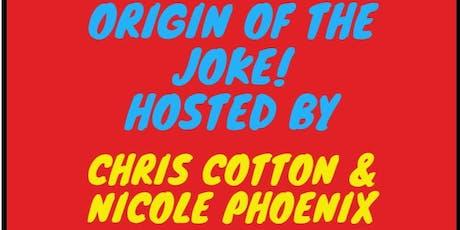Origin of the Joke tickets