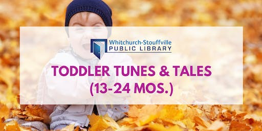 Toddler Tunes and Tales (ages 13-24 mos.)