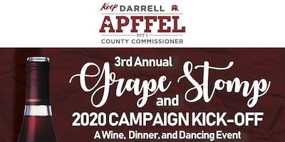 3rd Annual Grape Stomp & Campaign Kick-Off