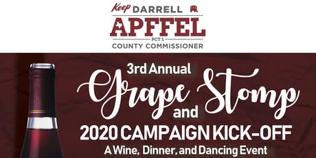3rd Annual Grape Stomp & Campaign Kick-Off tickets