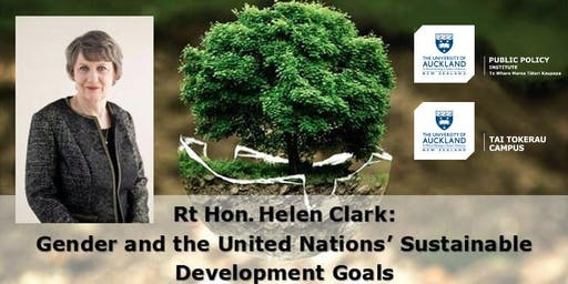 Global Issues Speaker Series Whangarei 2019: Helen Clark