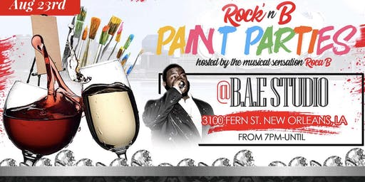 ROCK'n B PAINT PARTIES