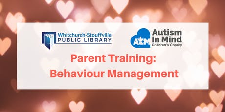 Parent Training: Behaviour Management (Autism in Mind) tickets