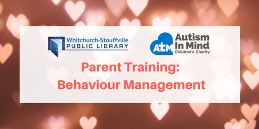 Parent Training: Behaviour Management (Autism in Mind)