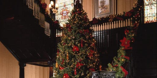 Christmas Tour at Vrooman Mansion