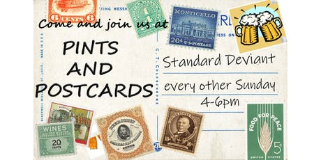 Pints & Postcards, Aug 18, 2019 tickets