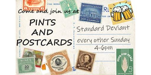 Pints & Postcards, Oct 20, 2019