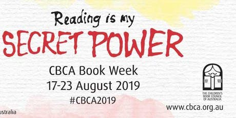 """Book Week Storytime """"Reading is my secret power"""" tickets"""