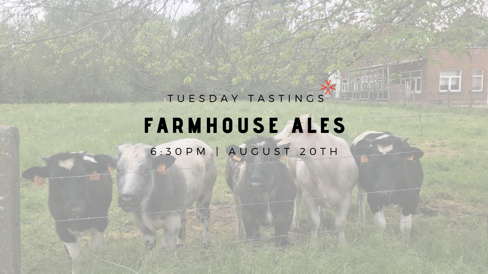 "Tuesday Tastings ""Farmhouse Ales"""