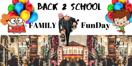 Back to School Family Fun day tickets