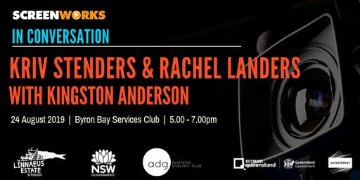 In Conversation: Kriv Stenders and Rachel Landers with Kingston Anderson