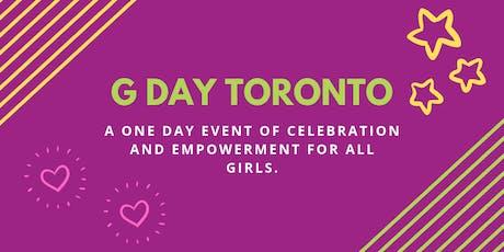 G Day Toronto 2019 tickets