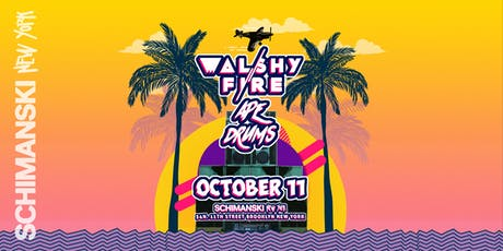 Walshy Fire + Ape Drums tickets