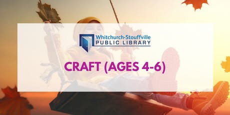 Craft (ages 4-6) tickets