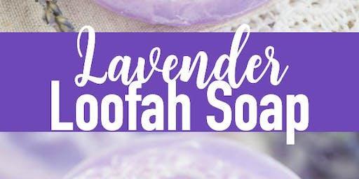 Lavendar Loofa Soap Bars DIY