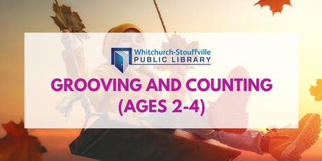 Grooving and Counting (ages 2-4) tickets