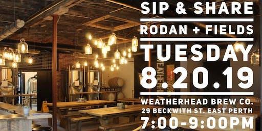 Rodan+Fields Sip & Share