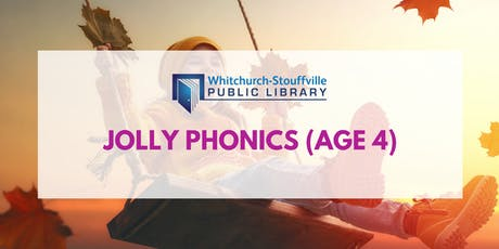 Jolly Phonics (age 4) tickets