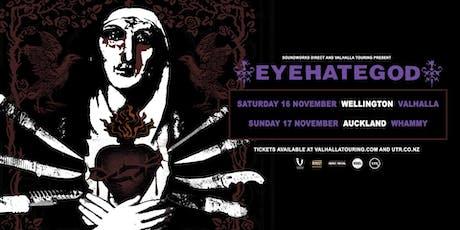 EyeHateGod NZ Tour - Aukland tickets