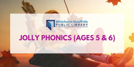 Jolly Phonics (ages 5-6) tickets