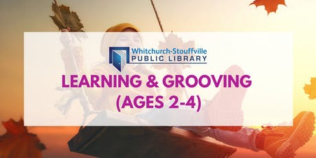Learning and Grooving (ages 2-4) entradas