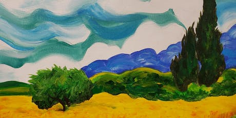 Van Gogh's Wheat Field Painting Party at Brush & C tickets