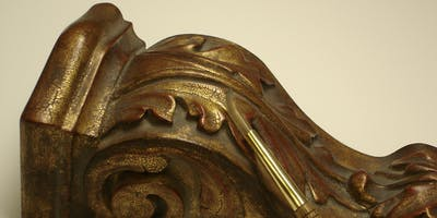 Seattle ~ Water Gilding Corbels: Architectural Gilding Class for Interiors