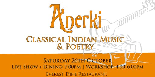 Indian Classical Music & Poetry Workshop