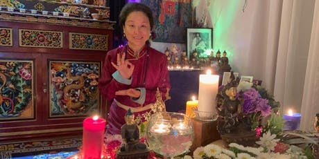 Candlelight Ceremony and Flower Mandala with Khandro Thrinlay Chodon September 2019 tickets