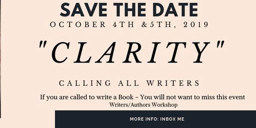Clarity! The Writers Conference in Cypress Texas