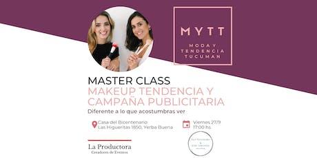 MYTT - MASTER CLASS MAKEUP TENDENCIA Y CAMPAÑA PUBLICITARIA entradas