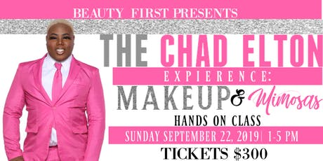 THE CHAD ELTON EXPERIENCE: MAKEUP & MIMOSAS tickets
