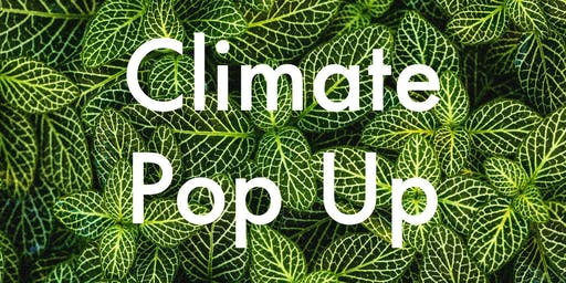 Climate Change Pop Up Party!