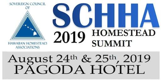 2019 SCHHA Homestead Summit