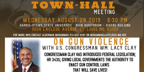 City-Wide Town Hall Meeting on Gun Violence tickets