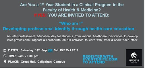 Who am I? Developing professional identity through healthcare education