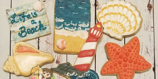 Day at the Beach Intermediate Cookie Class