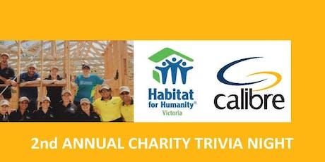 Calibre x Habitat For Humanity Trivia Night tickets
