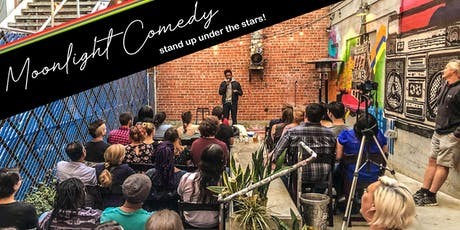 Moonlight Comedy: Stand Up Under the Stars! (First Friday Edition) tickets