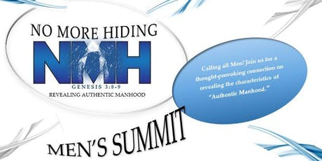 No More Hiding Men's Summit tickets