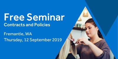 Free Seminar: Contracts and policies – Fremantle, 12th September