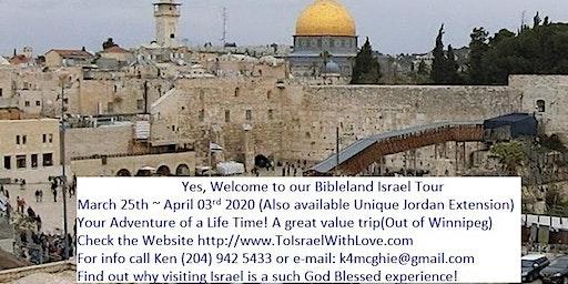 2020 Bible Land Israel Tour