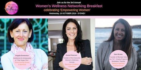 Executive Women's Wellness Society 3rd Annual Breakfast  tickets