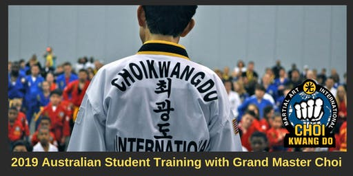CKD Student Training Class with Grandmaster Choi